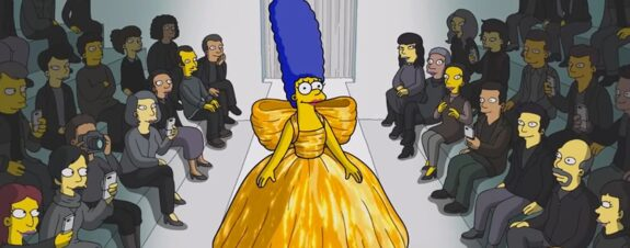 Balenciaga y Los Simpsons presentan su colección inédita