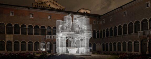 Edoardo Tresoldi presentó su magnífica instalación llamada Sacral