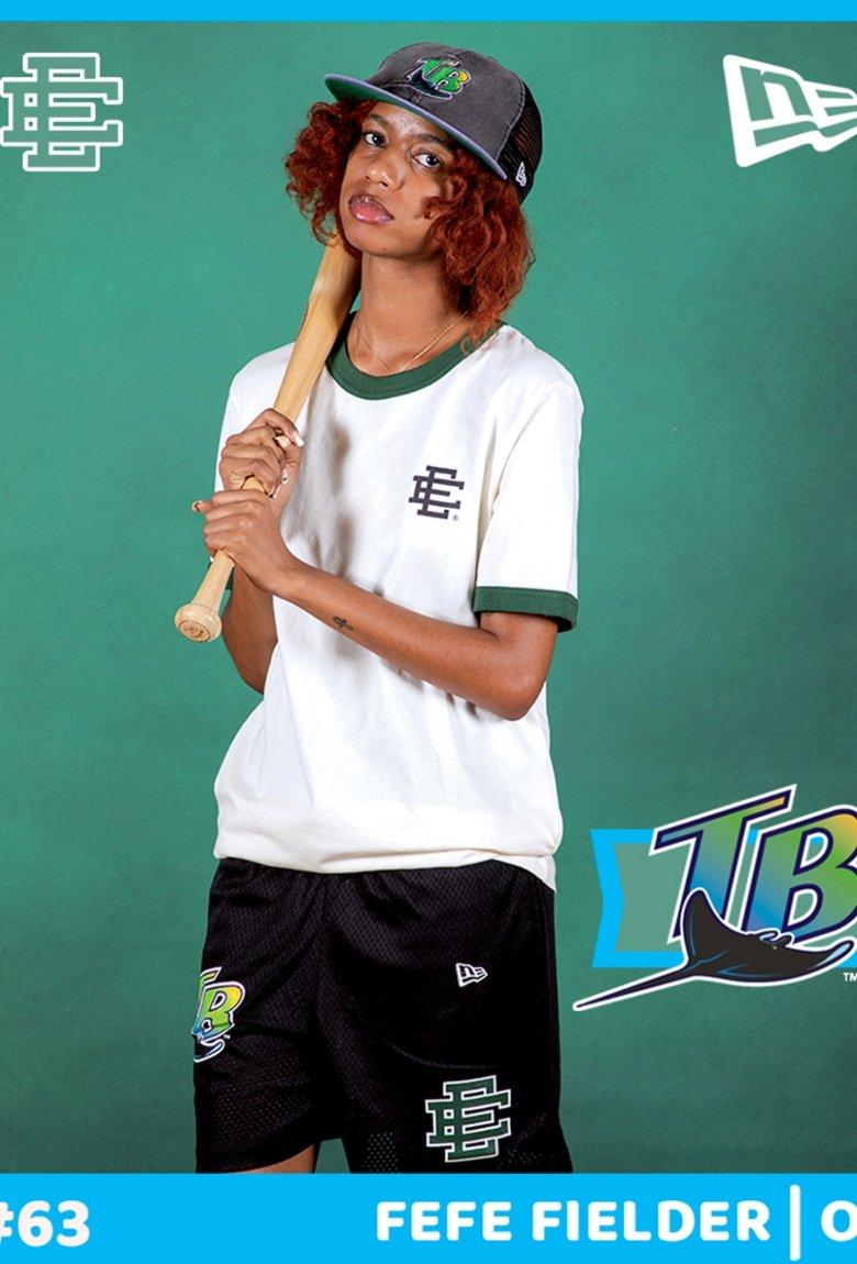 Eric Emmanuel x New Era se inspiran en el beisbol para su nueva colección