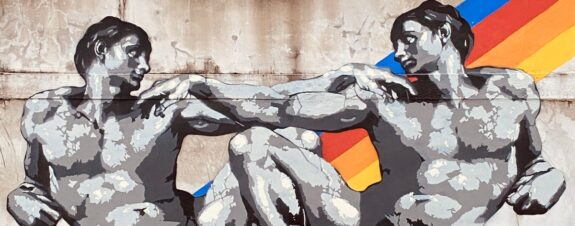 Headache Stencil presentó una nueva obra en apoyo a la comunidad LGBT
