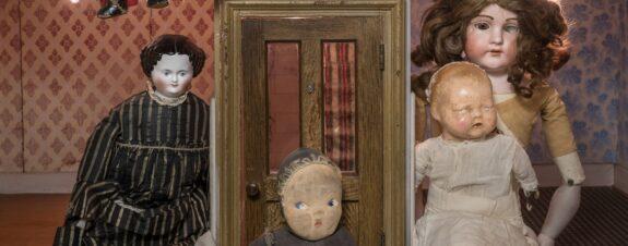 Muñecas creepy: una expo no apta para miedosos