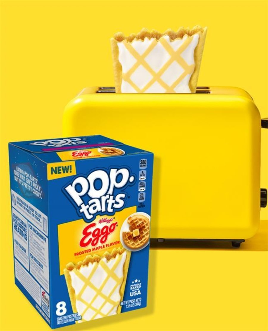 Pop Tarts Eggo de Kelloggs