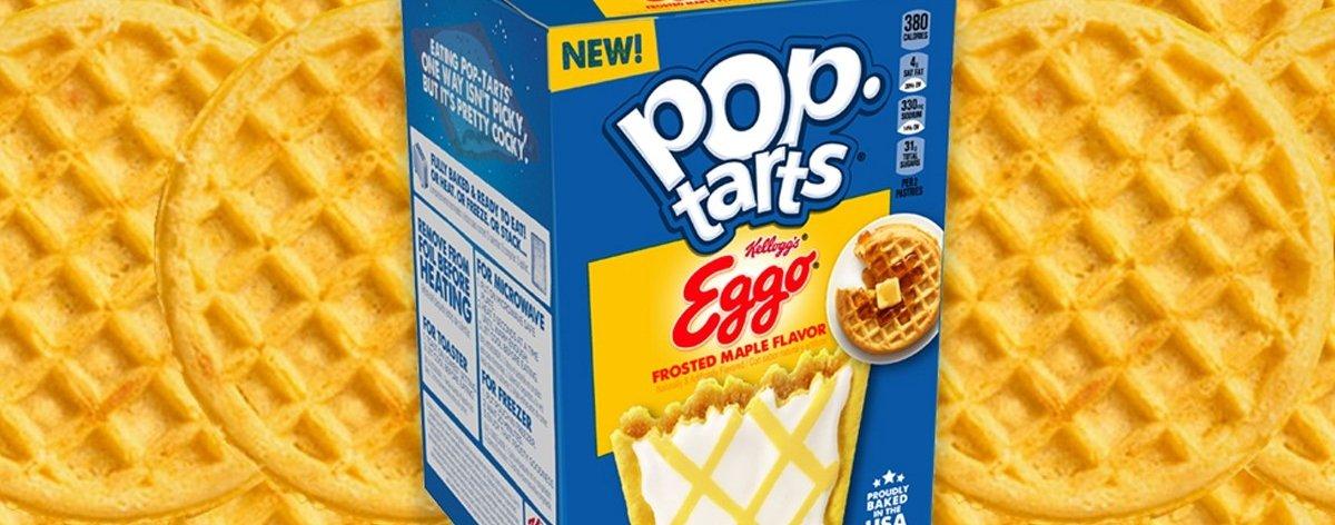 Pop-Tarts Eggo, galletas de waffle para desayunar