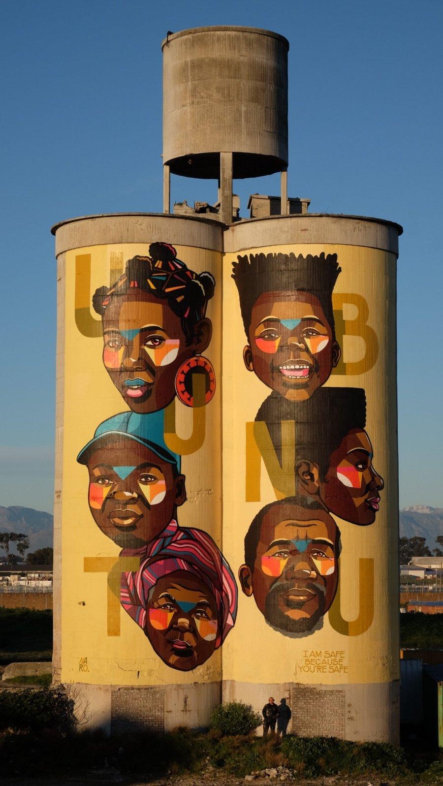 """Mural """"Ubuntu"""" por Nardstar"""