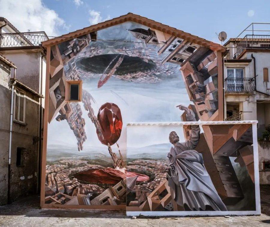 Vesod, artista italiano, participante de Urban Morphogenesis